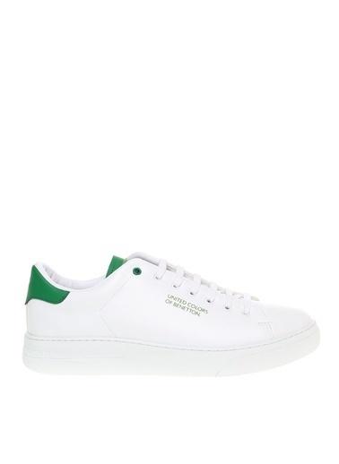 Benetton Benetton Sneaker Beyaz Beyaz